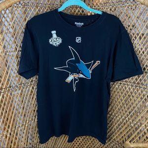 San Jose Sharks Short Sleeve Shirt